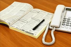 White phone directory